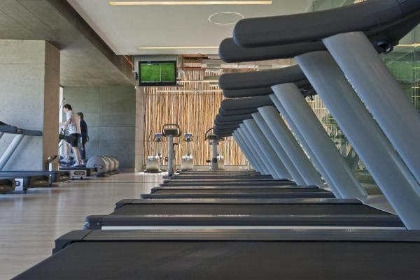 The Wellness and Balance Club is filled with the best equipment to keep you fit even while traveling.