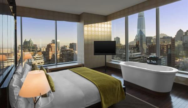The view from this luxurious E WOW Suite will surely make for a memorable stay.