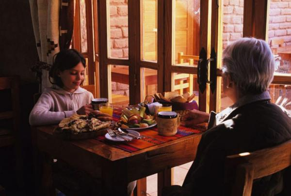 Enjoy an authentic Chilean meal in the restaurant.