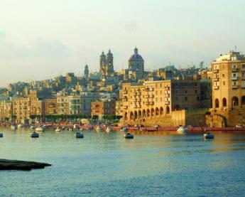 Capital city of Malta, Valletta.