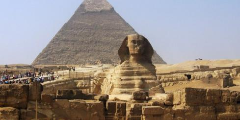 Visit the great pyramids of Egypt.