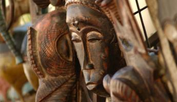 African carvings are a traditional from of art and culture.
