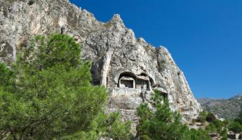 Dwellings carved out of stone