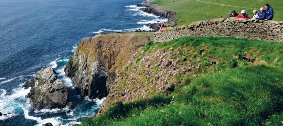 Walk the scenic coast of Great Britian