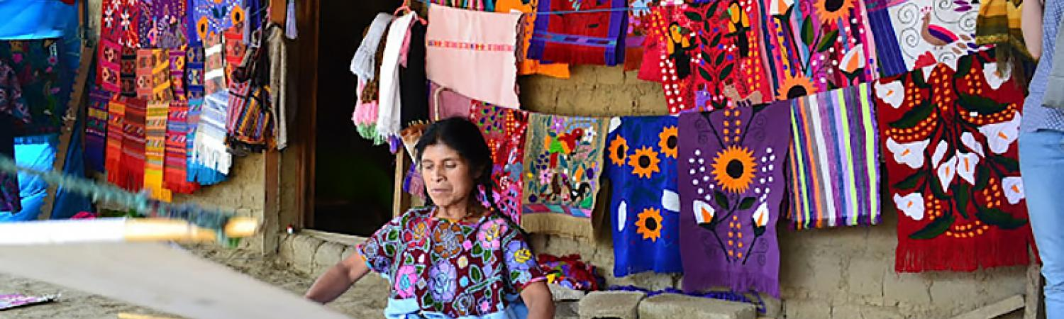 A local artisan in Chiapas