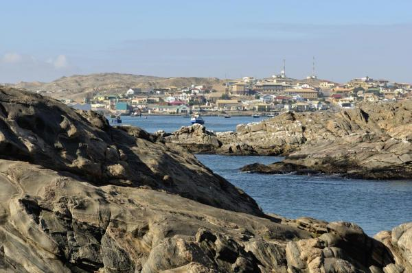 Stop in an abandoned mining town along the coast of Luderitz, Namibia