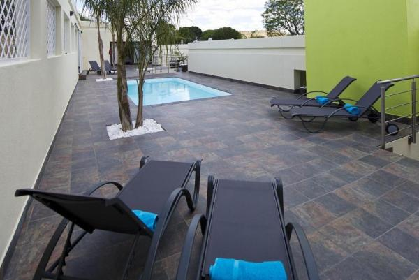 Relax by the pool at the Africa Safari at Galton House