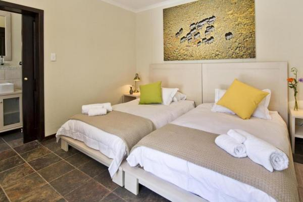 Enjoy the comfortable and spacious rooms at the Africa Safari at Galton House