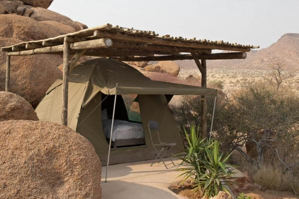 Camp in style at Camp Kipwe