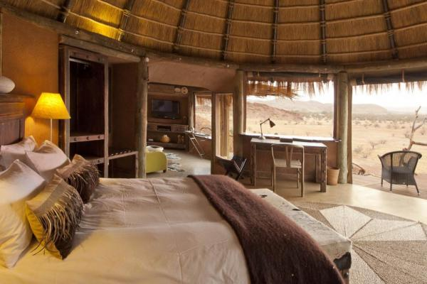 Relax in these unique and spacious rooms at that Camp Kipwe