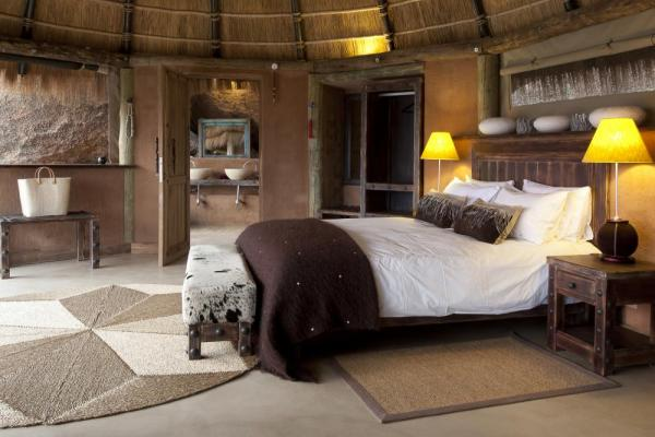 Relax in this comfortable and unique rooms at Camp Kipwe