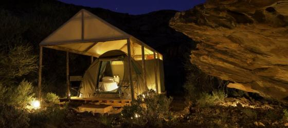 Camp in style with Damaraland Adventurer Camp