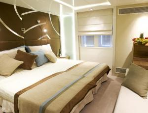 Relax in your category 3 cabin aboard the Variety Voyager