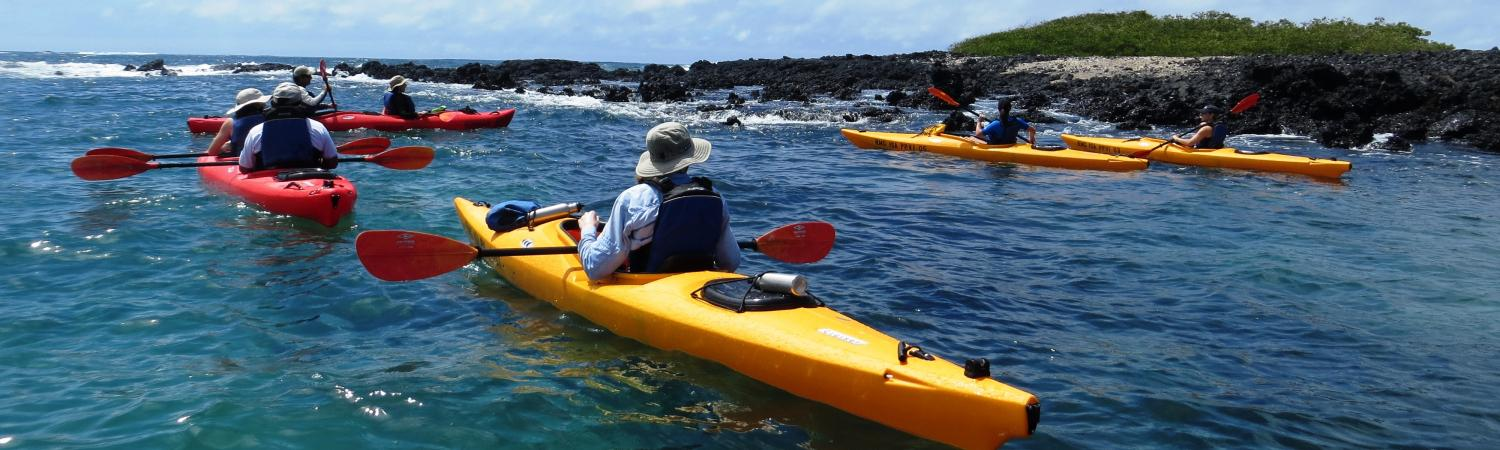 Enjoy seeing the beauty of these islands on an exciting kayak trip.