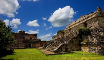 Ek' Balam is a collection of Mayan ruins.