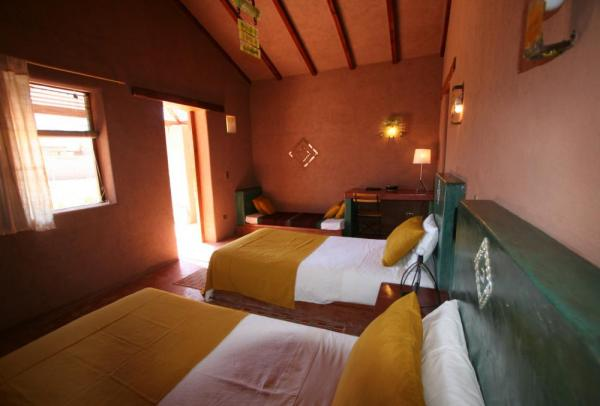 A double room at the Hotel Altiplanico