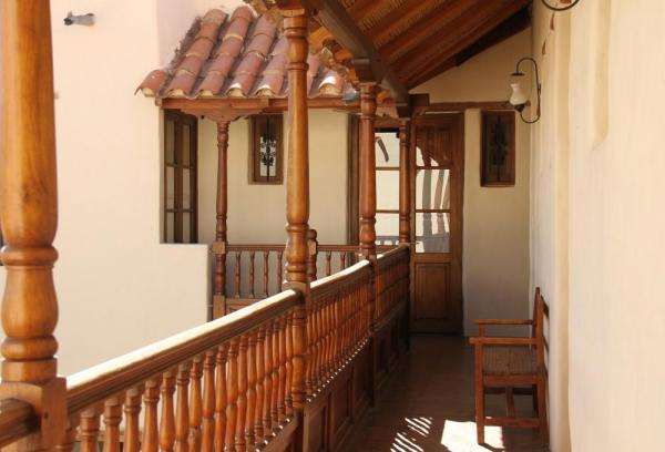The balcony of the Hotel Boutique El Cortijo