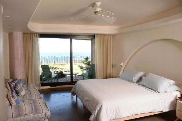 One of the rooms with a view at the Hangaroa Eco Village & Spa