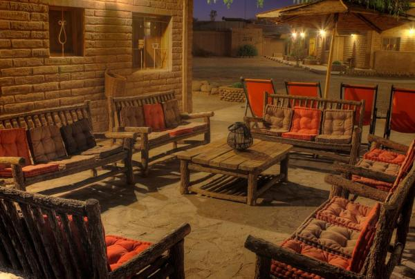 Lots of outdoor seating for socializing and relaxing