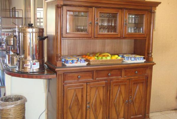 The breakfast bar at the Hotel Casa Don Tomas