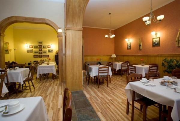 The dining room at the Hotel Plaza Punta Arenas