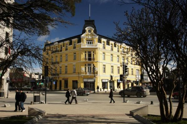 A view of Hotel Plaza Punta Arenas