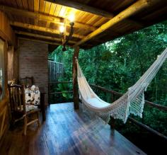 Enjoy complete relaxation in a hammock