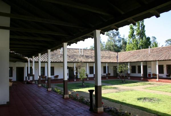 The courtyard of the Residencia Historica de Marchihue