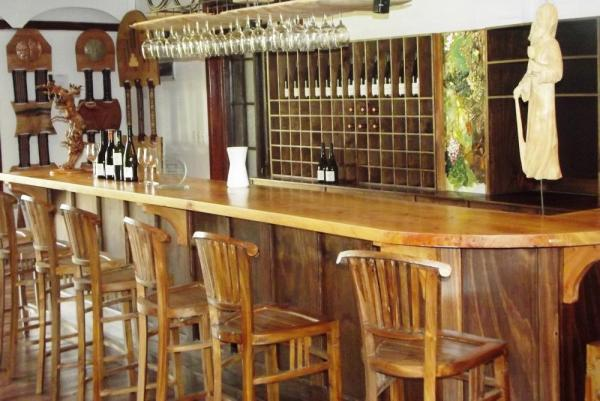 Enjoy the wines of Casa Marin at the wine bar