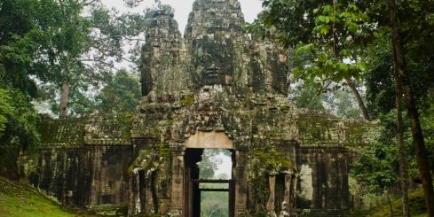 The beautiful Angkor Wat