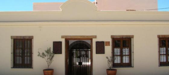 The entrance of the Hotel Boutique El Cortijo