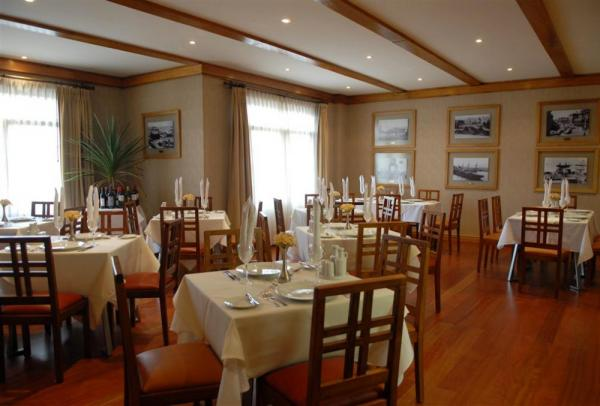 Hotel Rey Don Felipe's dining room is a treat to dine in