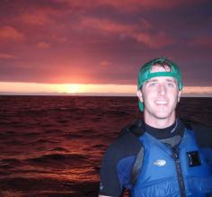 Taking in a Galapagos sunset
