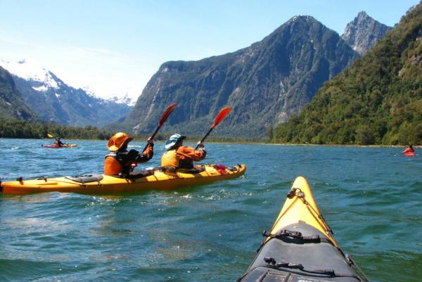 Campo Aventura provides opportunities for some excellent kayaking