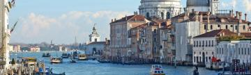 Sail along the Grande Canal in Venice