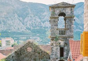 Your tour may include a visit to this abandoned church in Kotor, Montenegro