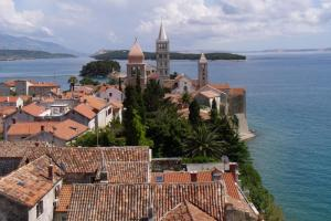 Call in beautiful Rab Island on your Mediterranean voyage