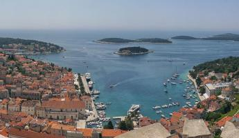 Stop to explore the picturesque island of Hvar on your Mediterranean Voyage