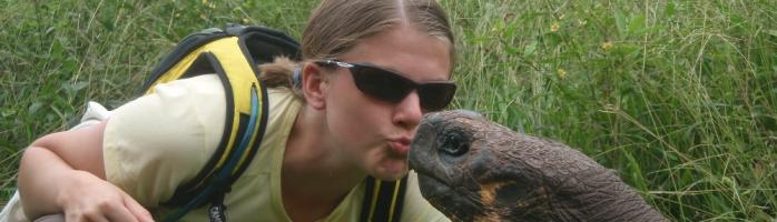 Dont tell Jens - no im NOT really kissing him!
