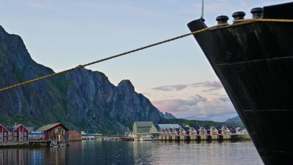 The MS Lofoten at port