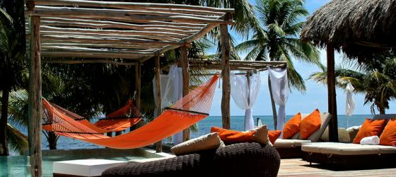 Relax by the sea at El Secreto