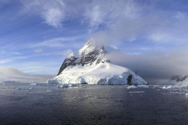 The dramatic landscape of Antarctica