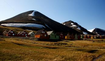 Longyearbyen is one of the largest Arctic communities