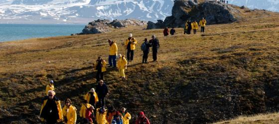 Explore Alkhornet on the Arctic island of Spitsbergen