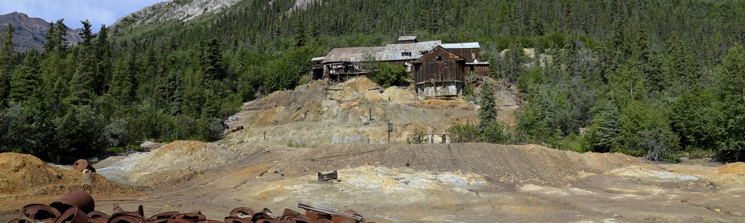 An old gold mine on Alaska's frontier