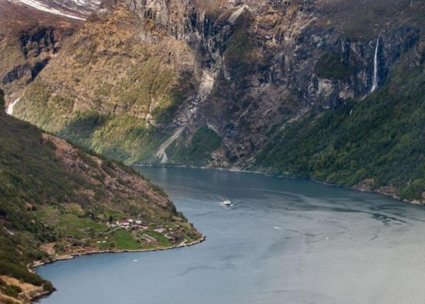 Sail through Norway's fjords on your small ship cruise