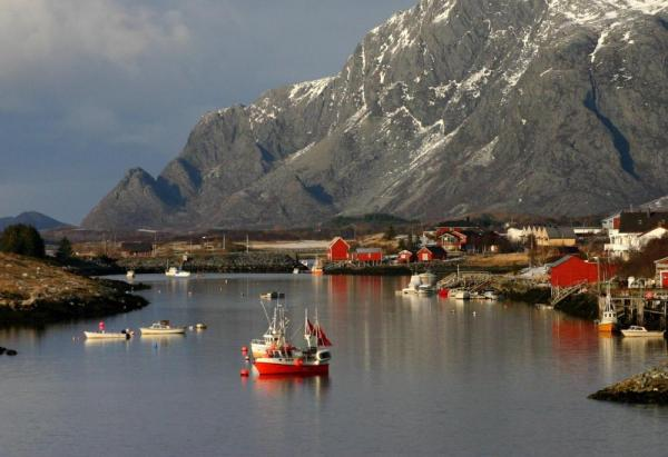 Charming port cities of the Norwegian fjords