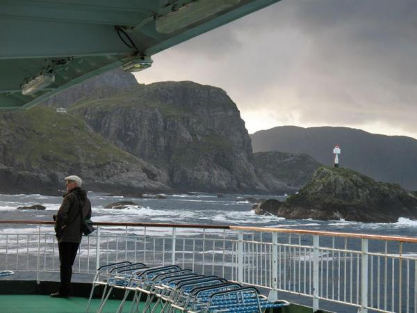 Enjoy beautiful moments of sailing as you cruise the Norwegian fjords