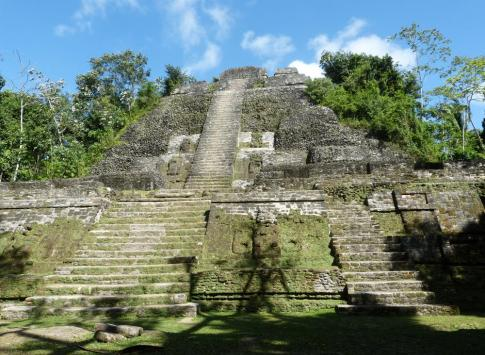 Mayan ruins at Lamanai