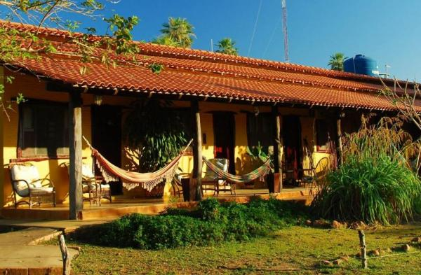 Relax in your hammock at Araras Lodge